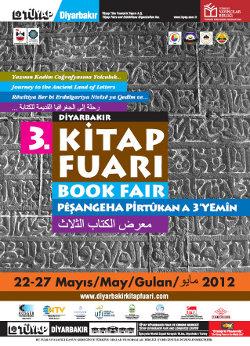 Post image for 3. Diyarbakır Kitap Fuarı açıldı!