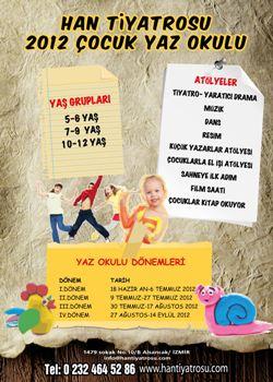 Post image for Han Tiyatrosu çocuklar için yaz okulu açıyor