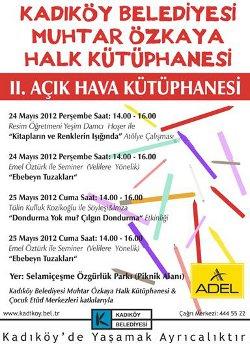 Post image for Kadıköy'de Açıkhava Kütüphanesi